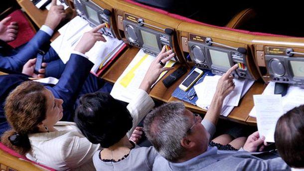 За рішення проголосувало 259 депутатів