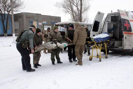 Вивіз поранених