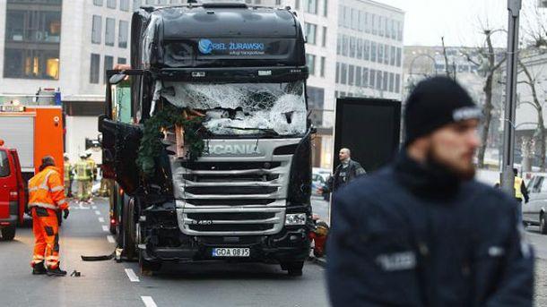 Подозреваемый в берлинском теракте может быть ранен