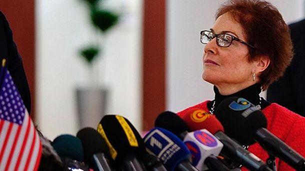 Посол Соединенных Штатов в Украине Мари Йованович