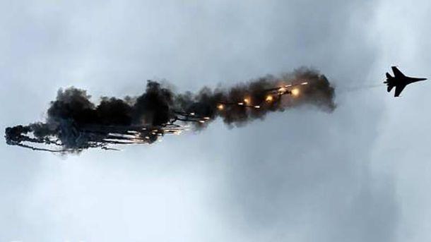 Су-27 потерпел крушение в Казахстане (иллюстрация)