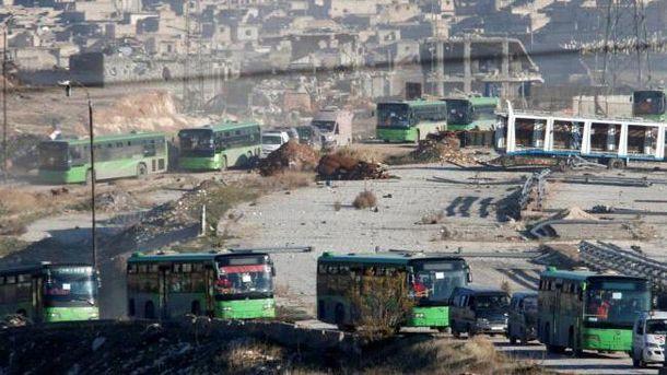 Евакуація з Алеппо