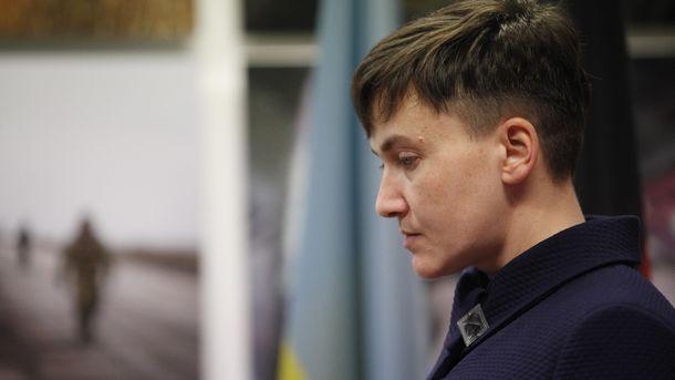 Надію Савченко виключили з ПАРЄ