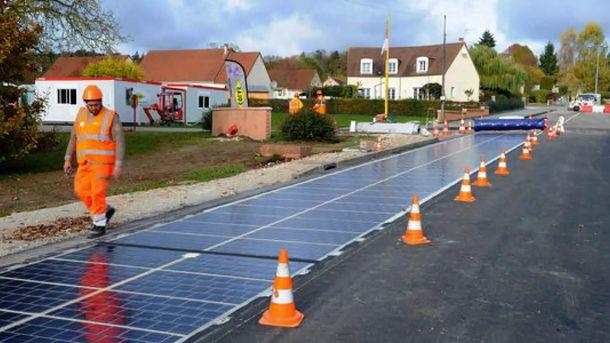 Дорога із сонячних батарей