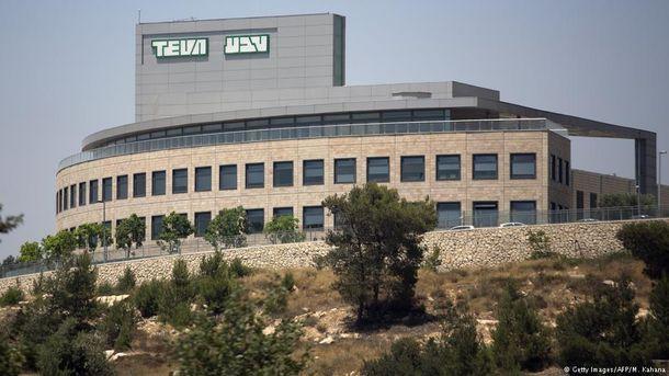 Завод Teva у Єрусалимі
