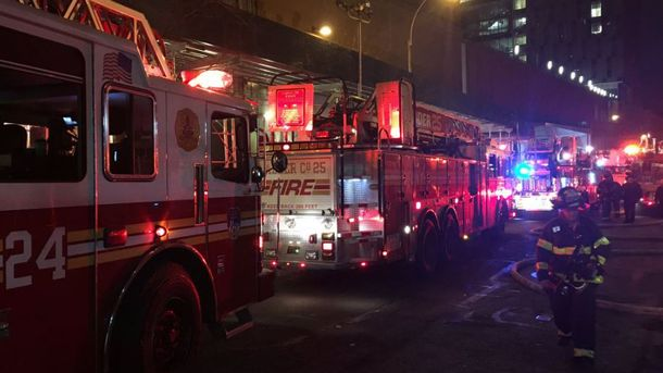 Пожежа у Нью-Йорку