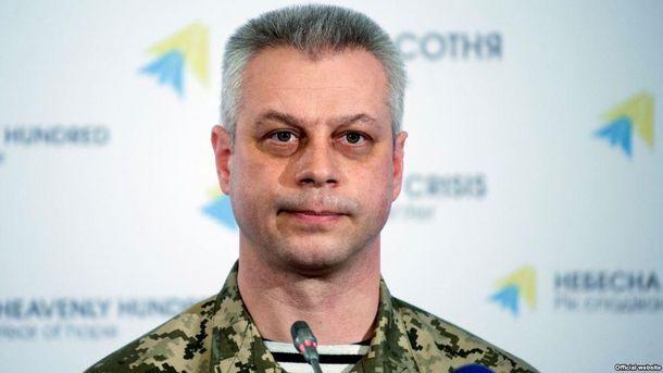 Спікер Міноборони з питань АТО Андрій Лисенко