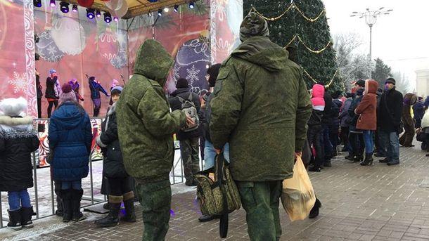 Бойовики у Донецьку