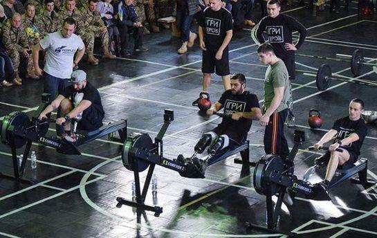 Соревнования среди параспортсменов-ветеранов АТО