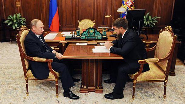 Кадиров любить Путіна