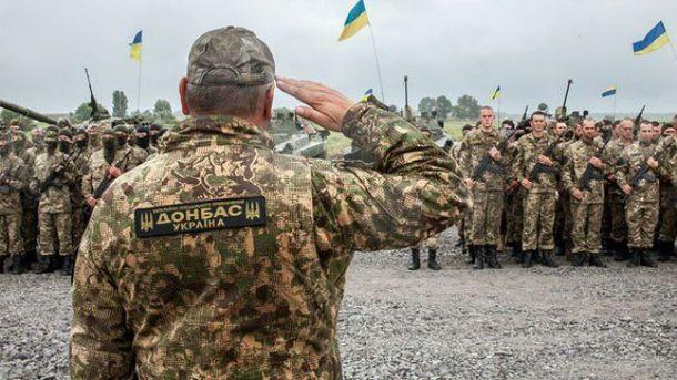 В поселок зашло подразделение батальона
