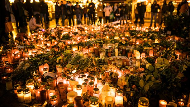 Вшанування жертв трагедії у Берліні