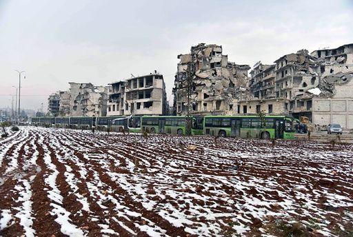 Россияне уже в Алеппо