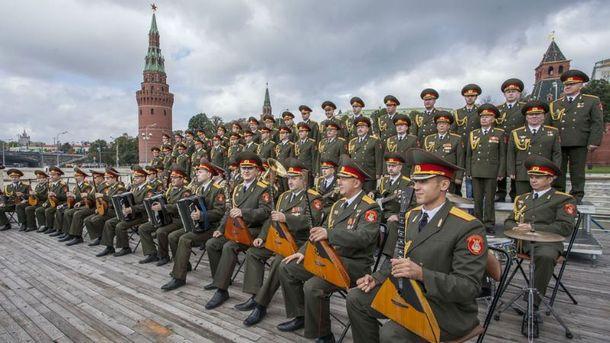На борту были музыканты российской армии
