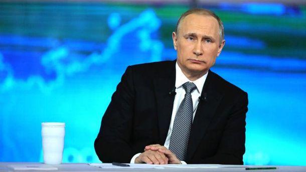 Путін відреагував на падіння російського літака