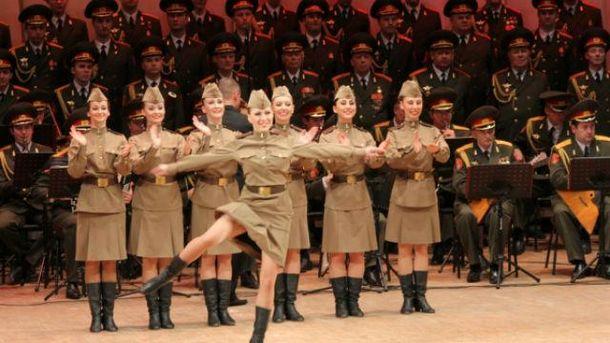 Раніше повідомлялось, що вони мали виступити перед російськими військовими