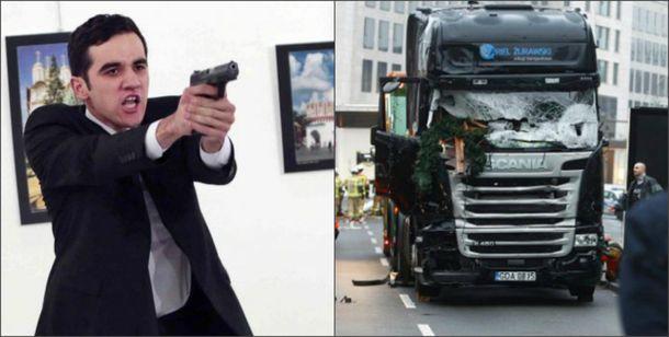 Убийца посла Мерт Алтинташ и смертоносный грузовик в Берлине