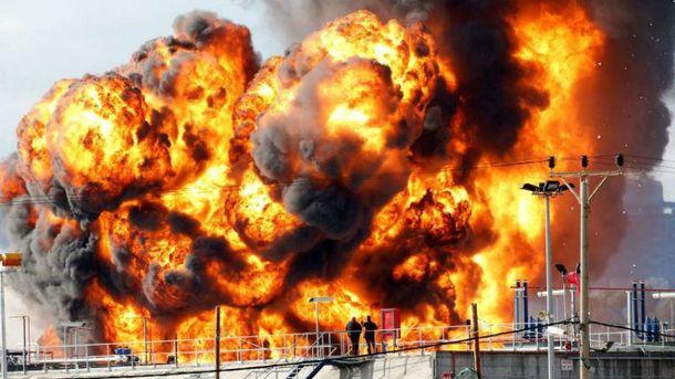 Взрыв нефтеперерабатывающего завода в Израиле