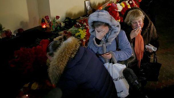 В России вспоминают жертв Ту-154