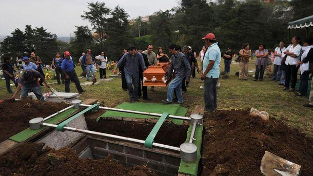 Жертви війни між наркокартелями в Мексиці