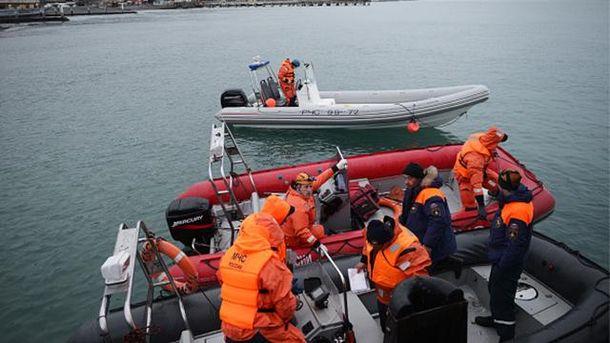 Пошукова операція у Чорному морі