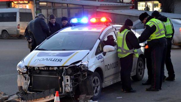ДТП за участю поліцейського патруля