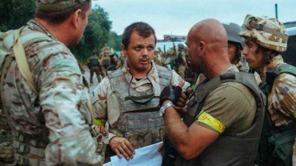 Семенченко обещает, что ограничения не коснутся мирных жителей