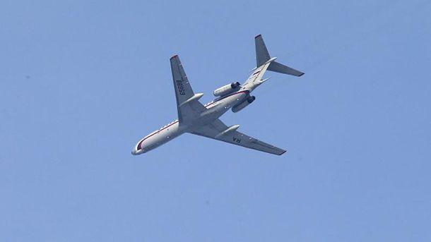 Російський військовий Ту-154 впав у Чорне море