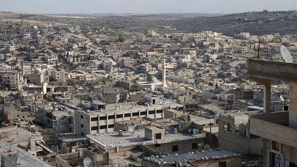 Разрушенное Алеппо