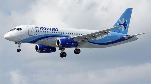 В Мексике отменили рейсы самолетов российского производства