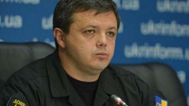 Семенченко каже, що нема з ким узгоджувати дії