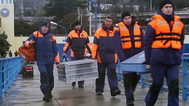 Спасательно-поисковая операция по катастрофе Ту-154 продолжается