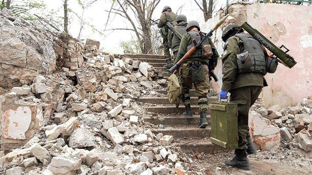 Вот такая она - война на Донбассе