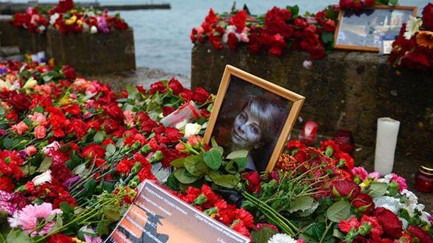 Почтении памяти жертв Ту-154