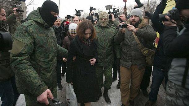 Передача двух пленниц Украины