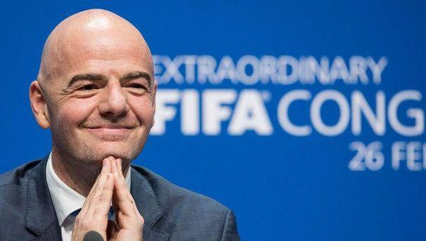 Президент ФІФА Джанні Інфантіно