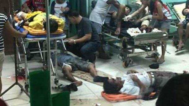 Жертви вибуху на Філіппінах