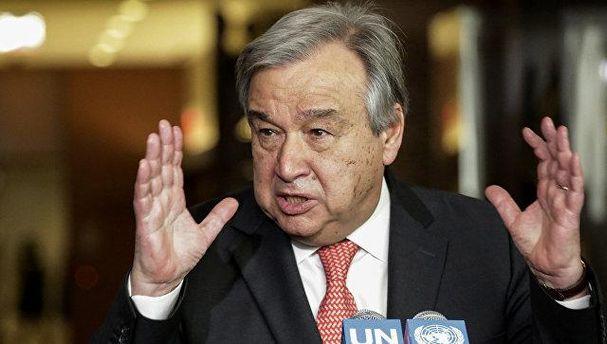 Будущий глава ООН Антониу Гутерреш
