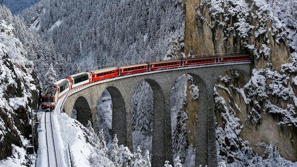 Залізниця зимою