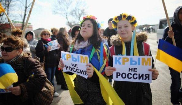 Оккупантам не по вкусу свободная Украина