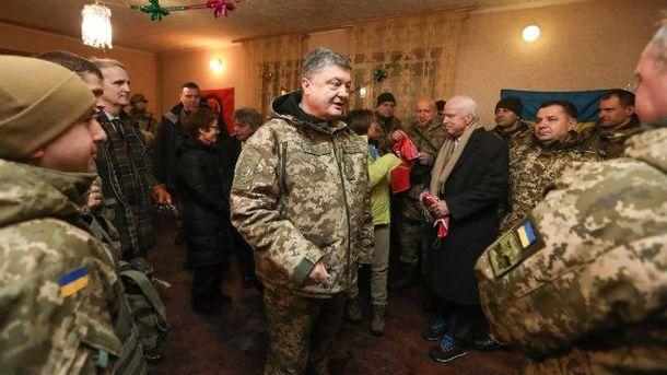 Порошенко поїхав на Донбас