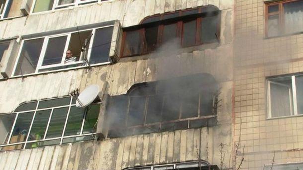 У Львові горіла багатоповерхівка