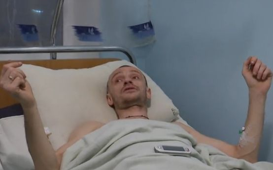 Мужчина, которому Пашинский прострелил ногу
