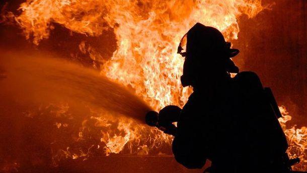 Пожежа спалахнула на місцевій пилорамі