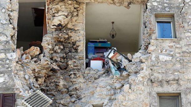 У 2016 році в Італії сталась три руйнівних землетруси