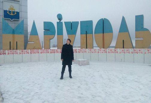 Надежда Савченко на Донбассе