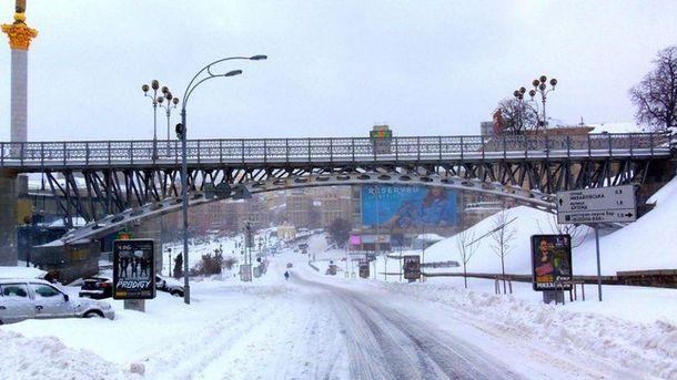 Смотровой мост на Майдане Незалежности