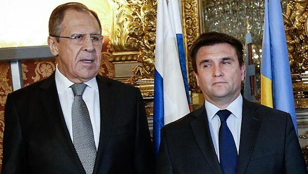 Росіянин Лавров і Павло Клімкін