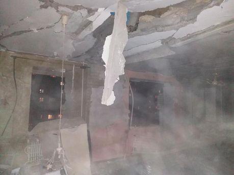 Взрыв в Сумах