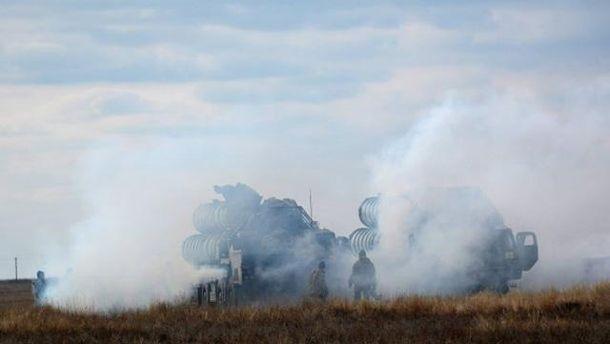 Военные учения возле Крыма